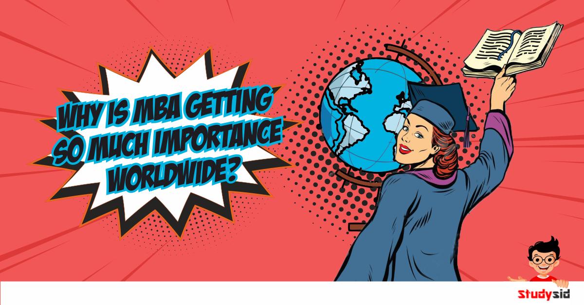 MBA importance