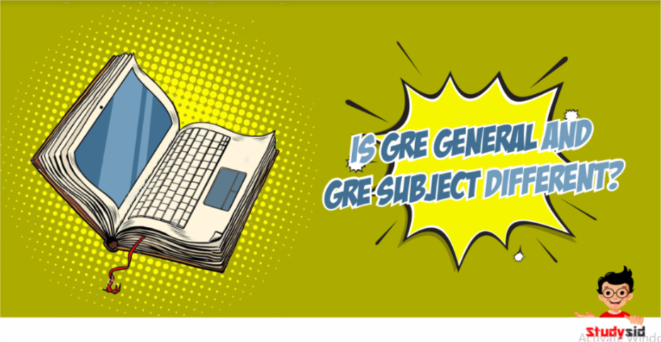 DIfference between GRE General and GRE Subject