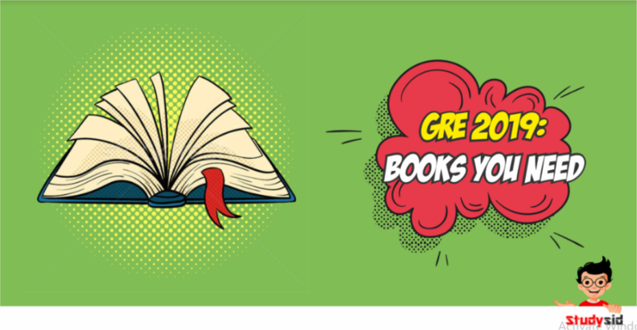 GRE 2019- Books you need