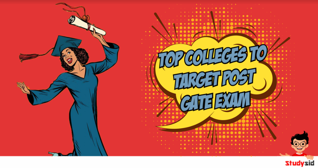 Top collegees to targhet post the GATE.