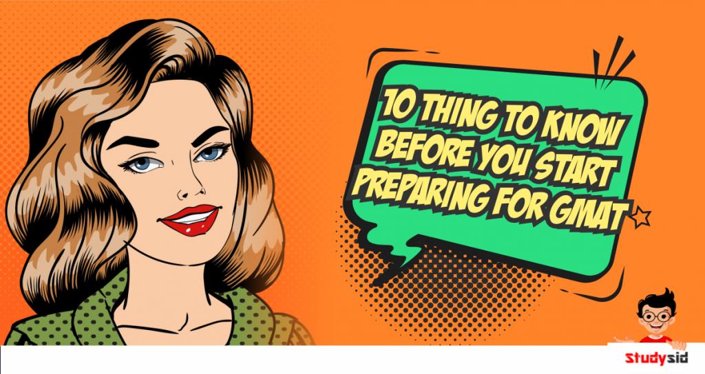10 things before starting GMAT
