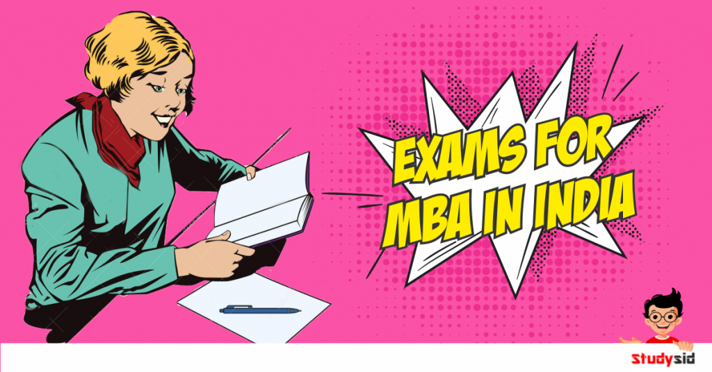 Exams for MBA in India